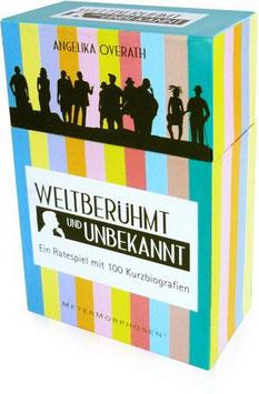 Weltberühmt & Unbekannt - Ein Ratespiel mit 100 Kurzbiografien