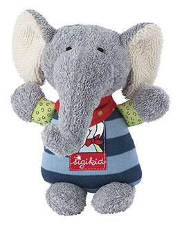 Elefant Lolo Lombardo mit Rassel