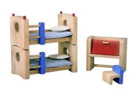 Kinderzimmer Neo - Puppenhaus Einrichtung