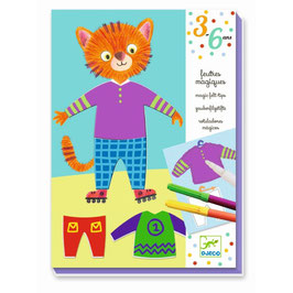 3-6 Design - Elliot und Zoe's Kleidung - Zauberfilzstifte