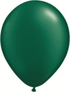 10 Luftballons grün
