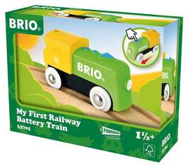 Meine erste Brio Batterie Lok