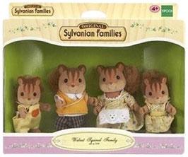 Walnuss Eichhörnchen Familie