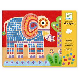 Elefant & Schnecke - Mosaik Bilderset