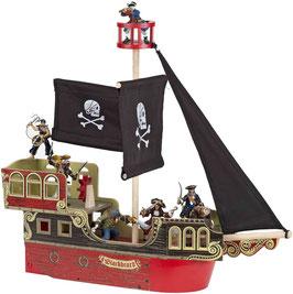 Piratenschiff aus Holz