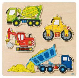 Baufahrzeuge - 12teilig