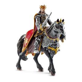 Drachenritter König zu Pferd