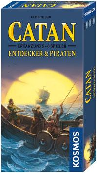 Die Siedler von Catan - Ergänzung für 5 & 6 Spieler - Entdecker & Piraten
