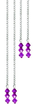 Chaines strass VIOLET