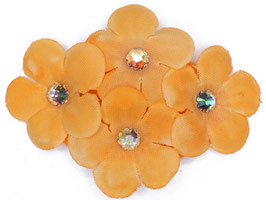 FLEUR SWEETIES ORANGE CRISTAUX IRISES