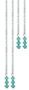 Chaines strass TURQUOISE