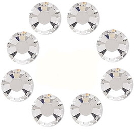 8 STRASS BLANC SWAROVSKI (4mm)