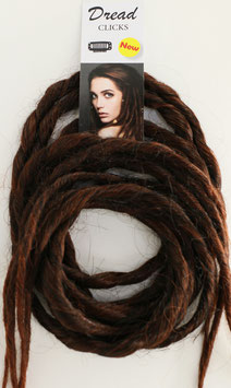 DREADLOCK MARRON FONCE