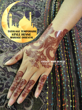 Tatouages temporaires brun (SD5525SD5526) 21 cm X 15 cm