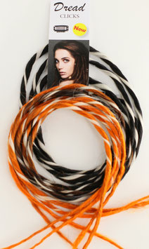 DREADLOCK NOIR ORANGE