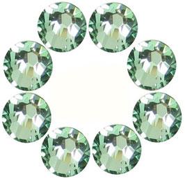 16 STRASS LIGHT GREEN MADE WITH SWAROVSKI ELEMENTS (4mm)