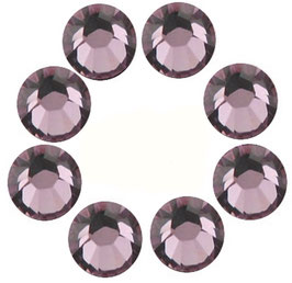 16 CRYSTALS LILAC WITH SWAROVSKI ELEMENTS  (4mm)
