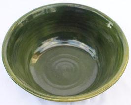 Schüssel - WMSB grün -  ∅ 29,5cm, H. 12cm.