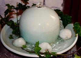 Zimmer Springbrunnen- türkis -   ∅ ca. 34 cm. Mit Pumpe