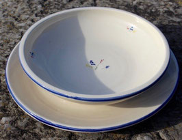 Suppen- u. Ess Teller bl. Sträußchen- je 23 €