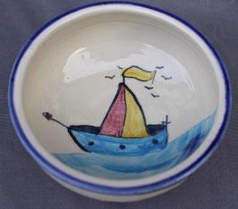 Kinder Schälchen - Schiff - ∅ 12,5 cm, H. 5 cm