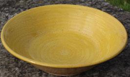 Schale - 1131 gelb PI -. ∅ 31,5cm, H. 8 cm