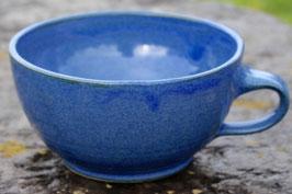 Tasse Ilse - blau-ca. ∅ 15,5 cm, H. 9 cm, 500 ml