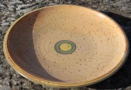 Schale - 1131blau, grün-. ∅ 26 cm, H. 3,5cm.