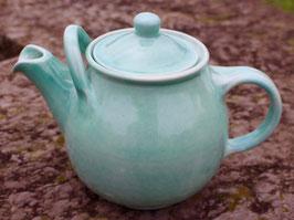 Teekanne,  - türkis WMSB-. 2 Liter. H. mit Deckel 18,5 cm