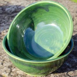 Müsli - grün  - ∅ 15,5 cm, H. 6,5 cm