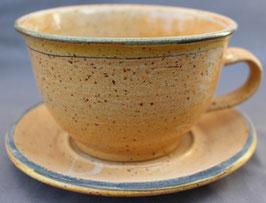 Caffee  m. Unterteller - 1131 gr-ge Rand-  ∅ 13,5 cm, H. 8 cm, 350ml. Caffe einzeln 14,00 €