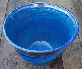 Schüssel - blau - ∅ 29,5 cm, H. 21 cm.