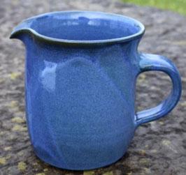 Krug WMSB -blau, gerade- ∅ 11,3 cm H. 13 cm, 0,75 Liter