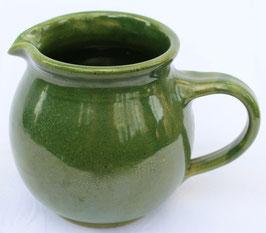 Krug rund -grün WMSB- ∅ 11 cm H. 14 cm, 1 Liter