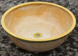 Schüssel - 1131 gelb, grün - ∅ 31 cm, H. 12 cm