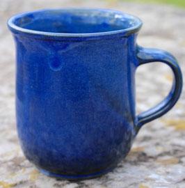 Becher groß - Blau - . ca.∅ 10,5cm, H.11 cm. 400 ml
