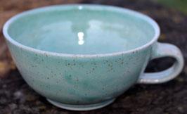 Caffee Link  - Türkis WMSB - , ∅ 14 cm, H. 6,5 cm 300 ml, Unterteller 8,00 €, Teller 15,00 €