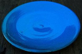 Teller -blau - ∅ 20 cm. Flach