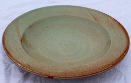Teller r.Ton-türkis- ∅ 27,5 cm. H. 5 cm