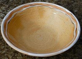 Schüssel - 1131 weiß,orange - ∅ 31 cm, H. 9 cm