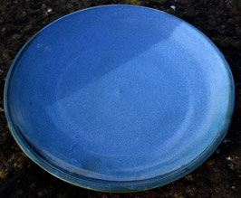 Teller -blau - ∅ 28 cm. Flach