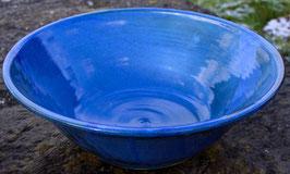 Schüssel - blau - ∅ 34 cm, H. 11,5 cm.