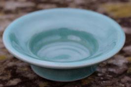 Teelicht Schale - WM türkis -  ∅ 8 cm H. 3,5 cm
