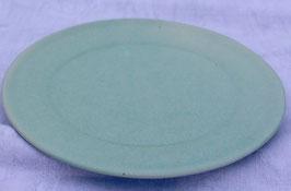 Kuchen Teller- türkis- ∅ 20 cm, H. flach.