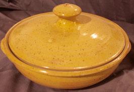 Auflauf - 1131 gelb Pi- ∅ 23,5 cm, H. mit Deckel 12,5 cm