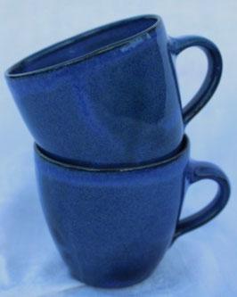 Becher Manu klein - Blau - .ca. ∅8 cm, H.7,5 cm. 250 ml, je