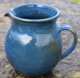 Krug WMSB -blau, rund- ∅ 11cm H. 16 cm, 1,2 Liter