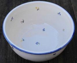 Müsli gr. - blaue Blumen - ∅ 17 cm, H. 8 cm
