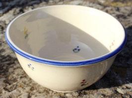 Müsli - blaue Blumen - ∅ 14 cm, H. 6 cm