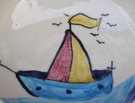 Kinder Becher -Schiff - ∅ 7 cm, H. 8,5 cm, 200ml